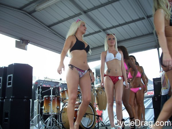 Maryland International Raceway Bikini Contest