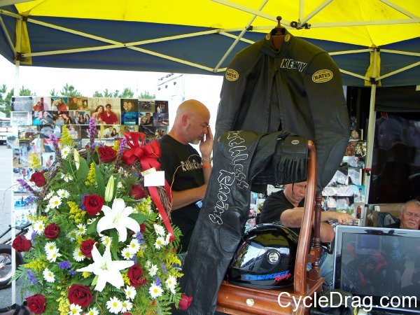 Kenny Poppell memorial
