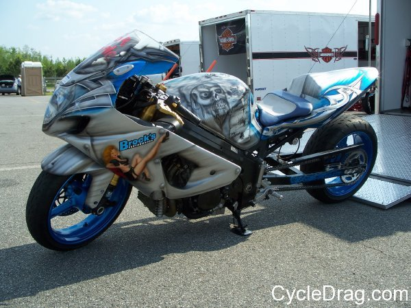 Brock's Custom Hayabusa