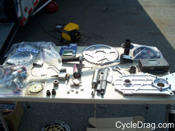 Used Drag Bike Parts
