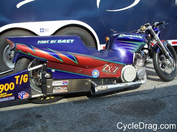 Mike Konopacki Kawasaki Drag Bike