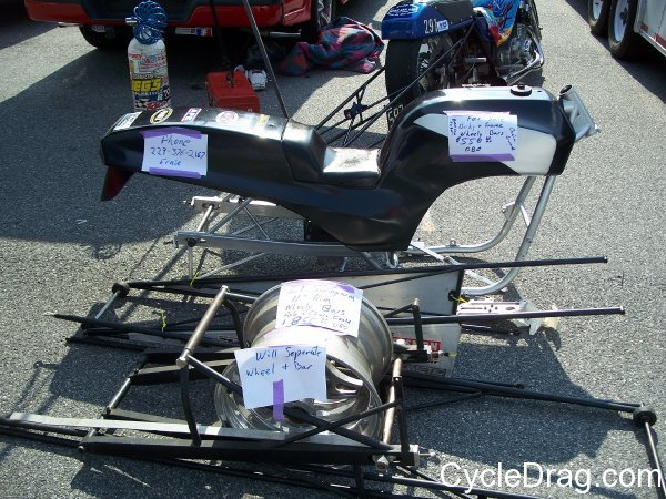 Dragbike KZ Chassis for sale