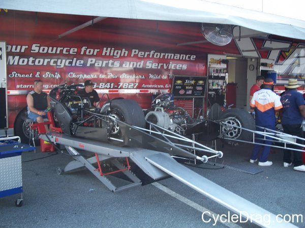 Star Racing Pit Area