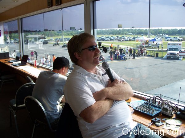 South Georgia Motorsports Park Announcer