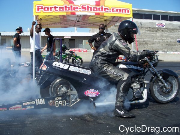 Thomas Cole Kawasaki KZ Burnout