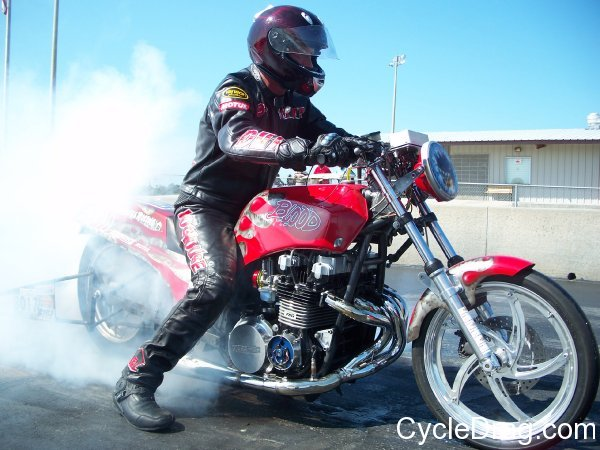 Matt Smith Dragbike ET Racing