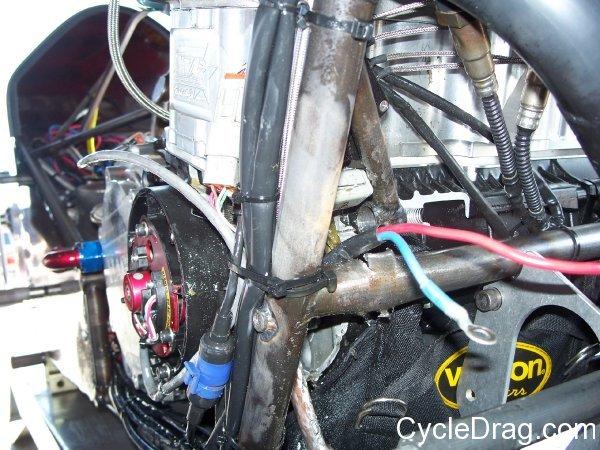 Dragbike Motor Explosion