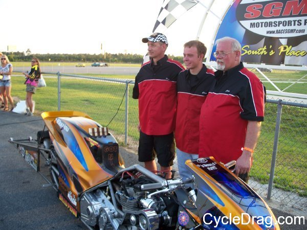 John Alwine Top Fuel Motorcycle