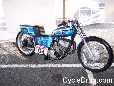 DRAGBIKE Fast by Gast Vintage two stroke, Kawasaki h-2 750