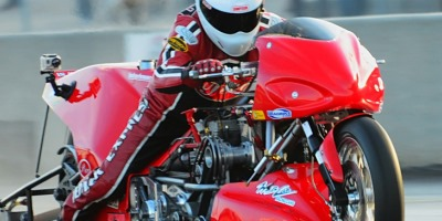 Chris Hand Top Fuel dragbike