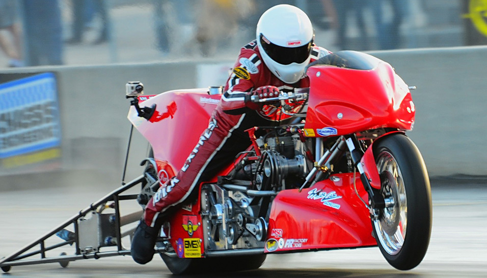Chris Hand Top Fuel Motorcycle Launch