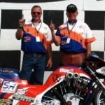 Tom Caldwell Motorcycle drag Racing