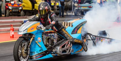 Ian King Top Fuel Dragbike