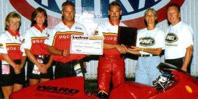 Rick Ward Todd Doege Pro Stock Motorcycle