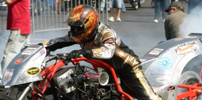 Larry Brancaccio Motorcycle drag Racing