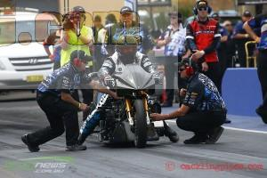 Chris Matheson Drag Bike
