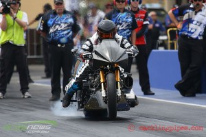 Chris Matheson Top Fuel Motorcycle Launch