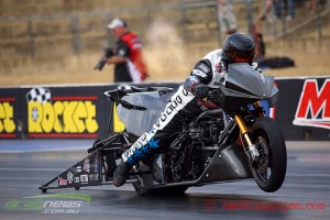 Chris Matheson Top Fuel Dragbike