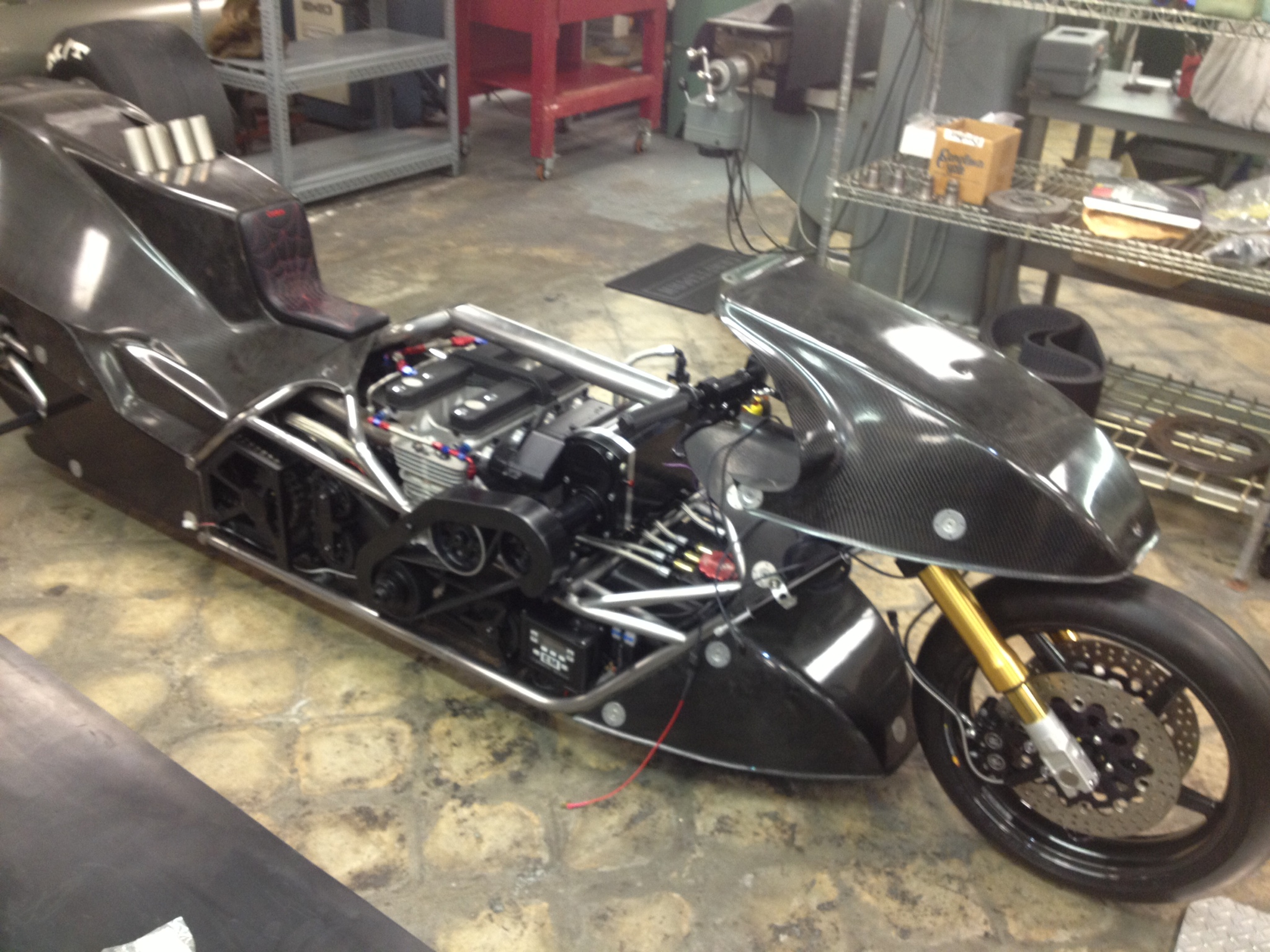 Suzuki Drag Bike Bodywork