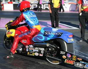 Chaz Kennedy Pro Stock Motorcycle