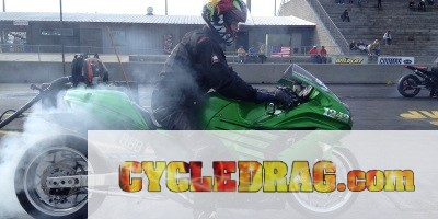 ZX-14 Dragbike Burnout