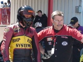 Walt Timblin, Travis Davis Dragbike racing