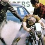 Clem Johnson Dragbike Racer