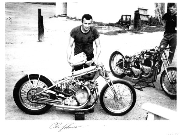 Remembering Motorcycle Drag Racer Clem Johnson Creator Of