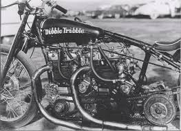 First Double Engine Dragbike