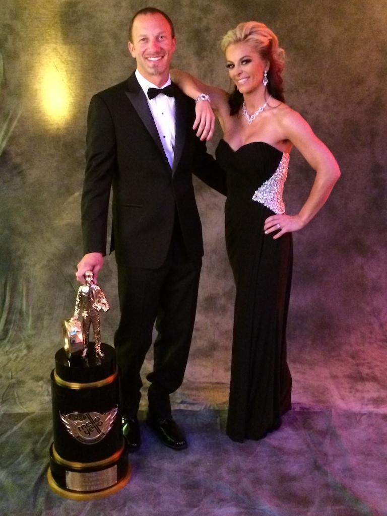Matt Smith and Angie Smith Champ