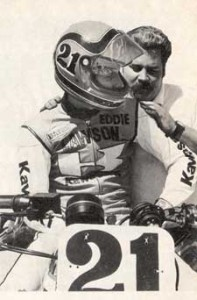 Rob Muzzy and Eddie Lawson