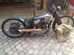 Rat Rod Harley