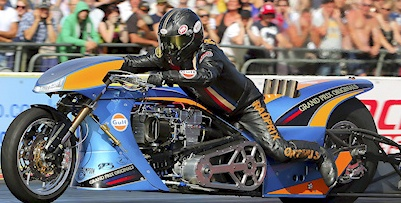 Ian King Top Fuel Motprcycle