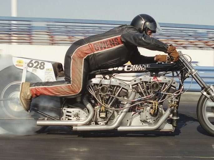 Marion Owens Twin Engine Harley Dragbike