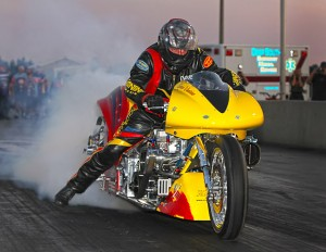 Dave Vantine Top Fuel Burnout
