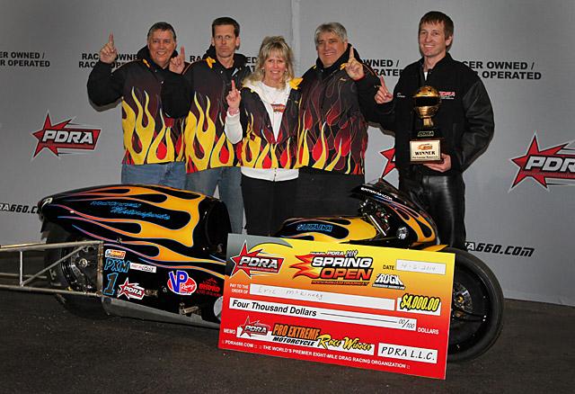 Eric McKinney PDRA Winner