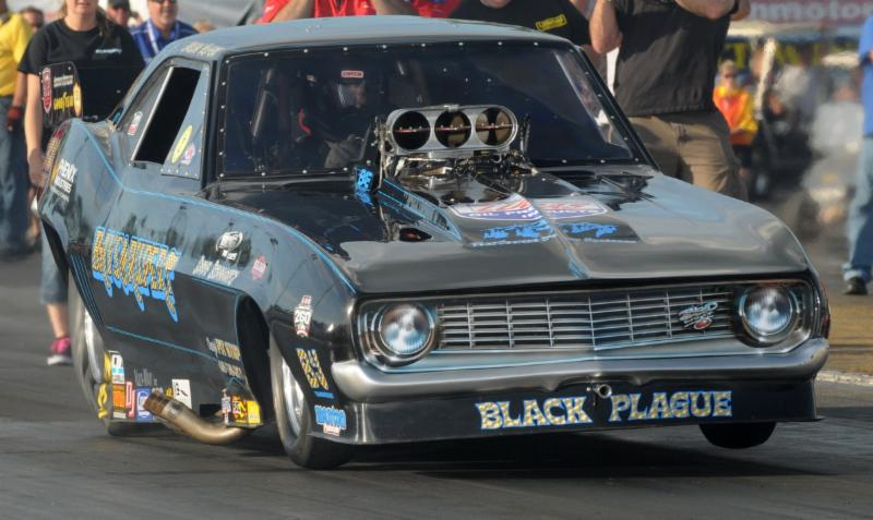 Black Plague IHRA Car