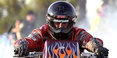 IHRA Nitro Harley Burnout