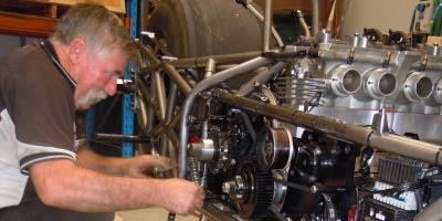 Top Fuel Dragbike Rebuild