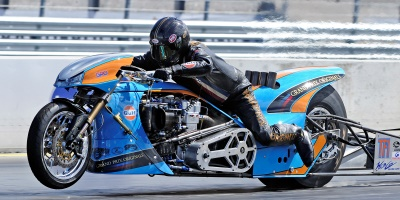 Ian King Top Fuel Motorcycle