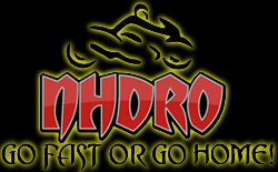 NHDRO Motorcycle Drag Racing logo