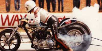 Ray Price Harley Burnout