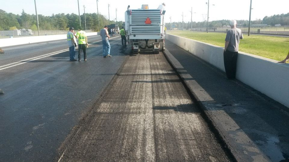 Atco Dragway Repaving