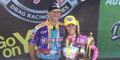 Angie Smith Matt Smith Winners Circle