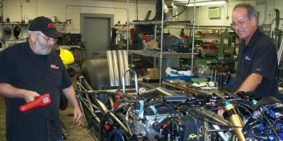 Larry McBride Steve McBride New Top Fuel Motorcycle