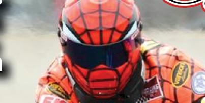 Larry McBride Helmet