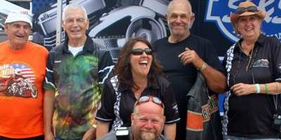 Bonnie Truett, Marion Owens and Pete Hill, Sandra Alberti in Sturgis