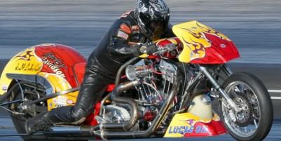 Ron Gledhill Nitro Harley