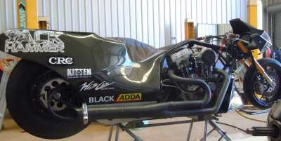 Jack Hammer Top Fuel Motorcycle