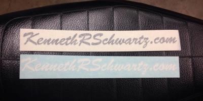 Ken Schwartz sticker